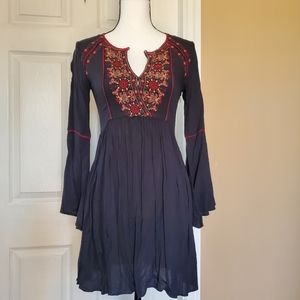American Eagle Bell Sleeve Mini Dress Sz XXS